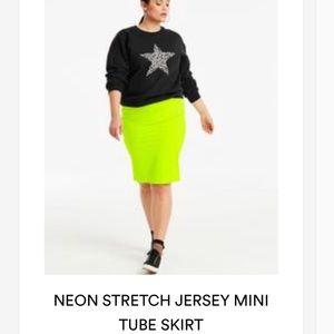 Neón Tube Skirt---Brand New
